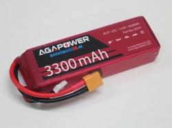 AGA-Power LiPo-Akku 3300mAh 14,8V 25C 4S1P