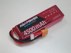 AGA-Power LiPo-Akku 4500mAh 14,8V 25C 4S1P