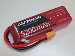 AGA-Power LiPo-Akku 5200mAh 14,8V 25C 4S1P