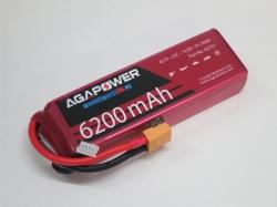 AGA-Power LiPo-Akku 6200mAh 14,8V 25C 4S1P
