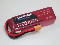 AGA-Power LiPo-Akku 4200mAh 18,5V 25C 5S1P