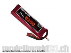 AGA-Power LiPo-Akku 6200mAh 18,5V 25C 5S1P