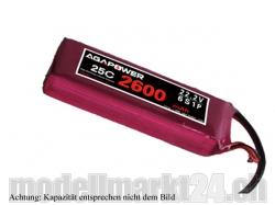 AGA-Power LiPo-Akku 2200mAh 22,2V 25C 6S1P
