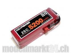AGA-Power LiPo-Akku 5200mAh 22,2V 25C 6S1P