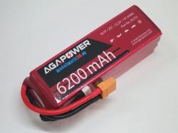AGA-Power LiPo-Akku 6200mAh 22,2V 25C 6S1P