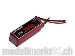 AGA-Power LiPo-Akku 3300mAh 7,4V 30C 2S1P