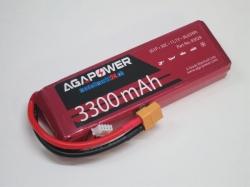 AGA-Power LiPo-Akku 3300mAh 11,1V 30C 3S1P