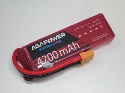 AGA-Power LiPo-Akku 4200mAh 11,1V 30C 3S1P
