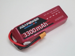 AGA-Power LiPo-Akku 3300mAh 14,8V 30C 4S1P