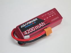 AGA-Power LiPo-Akku 4200mAh 14,8V 30C 4S1P