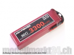 AGA-Power LiPo-Akku 3300mAh 18,5V 30C 5S1P