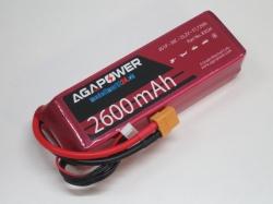 AGA-Power LiPo-Akku 2600mAh 22,2V 30C 6S1P