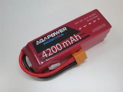 AGA-Power LiPo-Akku 4200mAh 22,2V 30C 6S1P