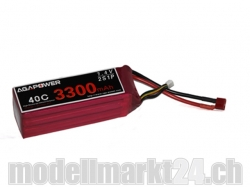 AGA-Power LiPo-Akku 3300mAh 7,4V 40C 2S1P