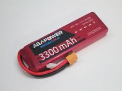 AGA-Power LiPo-Akku 3300mAh 11,1V 40C 3S1P