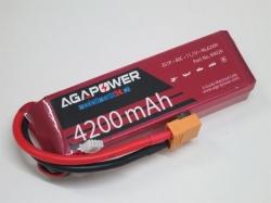 AGA-Power LiPo-Akku 4200mAh 11,1V 40C 3S1P