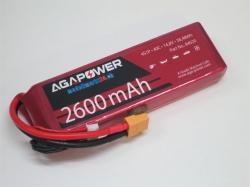 AGA-Power LiPo-Akku 2600mAh 14,8V 40C 4S1P