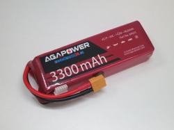 AGA-Power LiPo-Akku 3300mAh 14,8V 40C 4S1P
