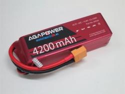 AGA-Power LiPo-Akku 5200mAh 14,8V 40C 4S1P