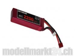 AGA-Power LiPo-Akku 2200mAh 22,2V 40C 6S1P