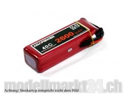 AGA-Power LiPo-Akku 2600mAh 22,2V 40C 6S1P
