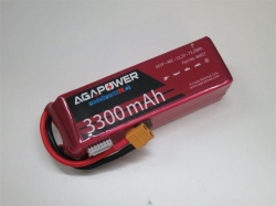AGA-Power LiPo-Akku 3300mAh 22,2V 40C 6S1P
