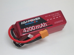 AGA-Power LiPo-Akku 4200mAh 22,2V 40C 6S1P