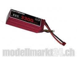 AGA-Power LiPo-Akku 3300mAh 7,4V 50C 2S1P