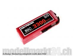 AGA-Power LiPo-Akku 3300mAh 22,2V 50C 6S1P