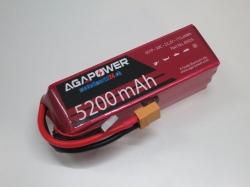 AGA-Power LiPo-Akku 5200mAh 22,2V 50C 6S1P