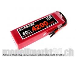 AGA-Power LiPo-Akku 4200mAh 7,4V 60C 2S1P