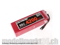 AGA-Power LiPo-Akku 4200mAh 22,2V 60C 6S1P