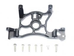 Aluminum Rear Spur Gear Cover Mount Schwarz-8Pc Set von GPM-Racing