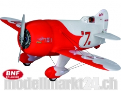 E-Flite Ultra Micro GEE BEE R2 BNF Spw.510mm AS3X