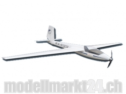 FlyFly Segelflieger Swift S-1, Spw.2500mm, El.-Version, PN..