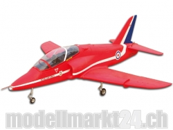 FlyFly Bae Hawk Red Arrows, Spw.1365mm, Impeller-Jet, PNP-Bausatz