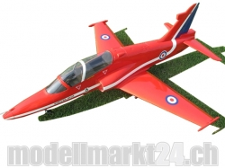 FlyFly Bae Hawk GFK Red Arrows, Spw.1200mm, Impeller-Jet, PNP-Bausatz