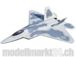 FlyFly F-22 Raptor, Spw.1150mm, Impeller-Jet, PNP-Bausatz