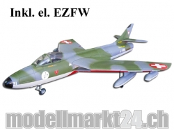 FlyFly Hawker Hunter, Spw.11120mm, Swiss-Design, Impeller-Jet, PNP-B..