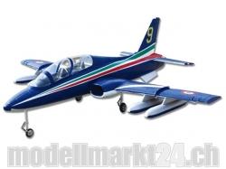 FlyFly MB339A AERMACCHI, Spw.1375, Impeller-Jet, ARF mit Impeller un..