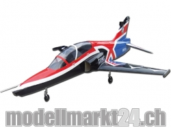 FlyFly Bae Hawk UK 2010th Anniversary GFK, Spw.1200mm, Imp..