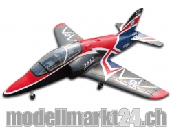 FlyFly Bae Hawk UK 2010th Anniversary, Spw.1365mm, Impeller-Jet, PNP..