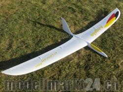 RCRCM Angela CFK Spw.2000mm Gelb mit Schutztaschen, RC Mod..