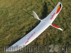 RCRCM Angela CFK Spw.2000mm Weiss/Rot mit Schutztaschen, R..