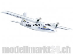 Multiplex Twinstar II Brushless Spw.1420mm BK+, RC Modellflugzeug