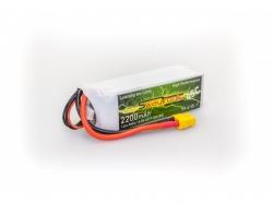 SWAY-FPV LiPo 4S 14.8V 2200mAh 45C/90C XT60