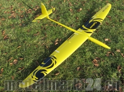 RCRCM Typhoon Spw.2,0m CFK (Carbon) Gelb/Schwarz Seglerversion, RC M..