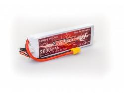 SWAYTRONIC LiPo 3S 11.1V 2600mAh 60C/120C XT60