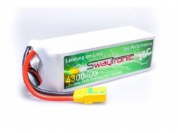 SWAYTRONIC LiPo 6S 22.2V 4300mAh 35C/70C XT90S