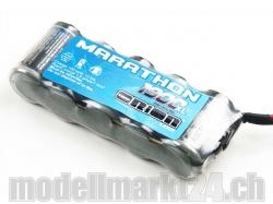 Marathon XL NiMh-Akku 1900mAh 5Zellen (6.0V) Universal Plu..